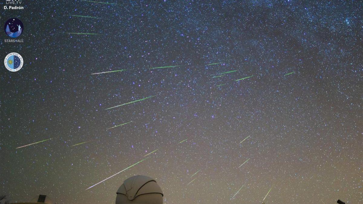 Perseids Teide Observatory